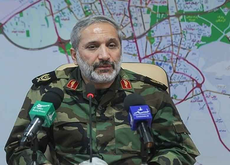 فرمانده سپاه محمد رسول الله(ص) : امریکا باید در شلمچه و خرمشهر با شهدای ما مذاکره کند
