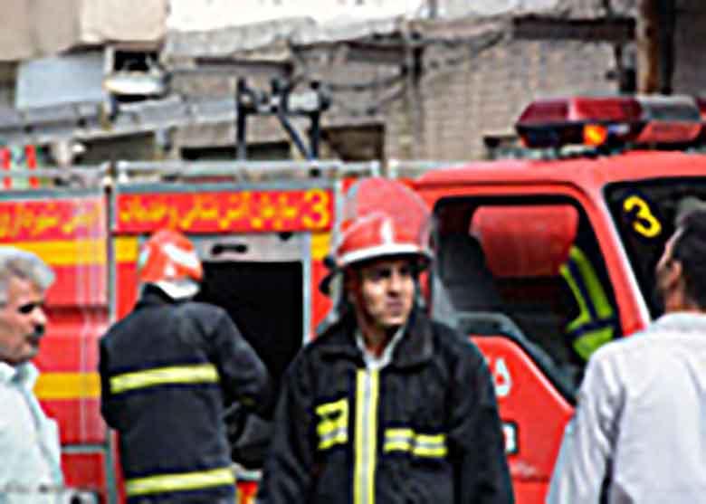 سوختگی مرد ۳۵ ساله بر اثر انفجار منزل مسکونی