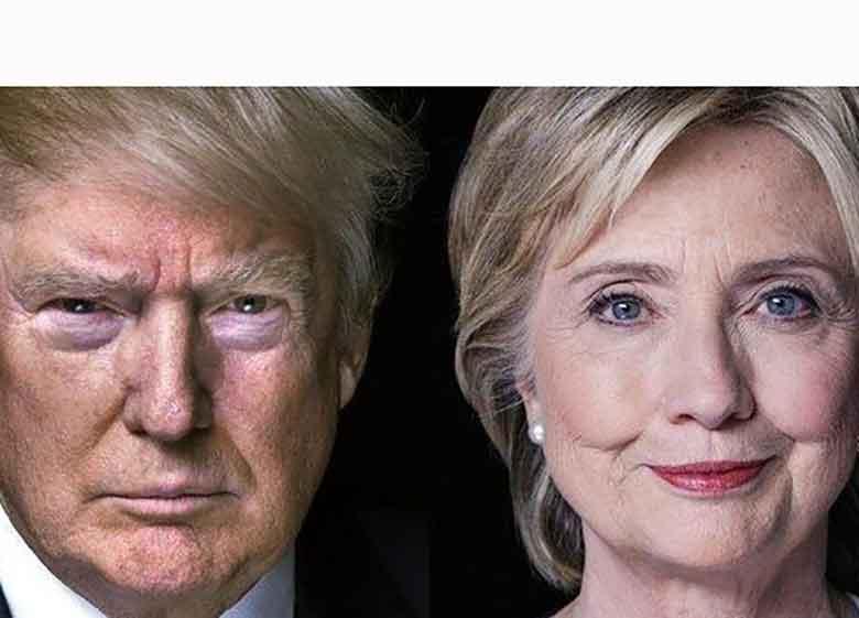 ترامپ: هیلاری کلینتون مسیر خود را گم کرده است