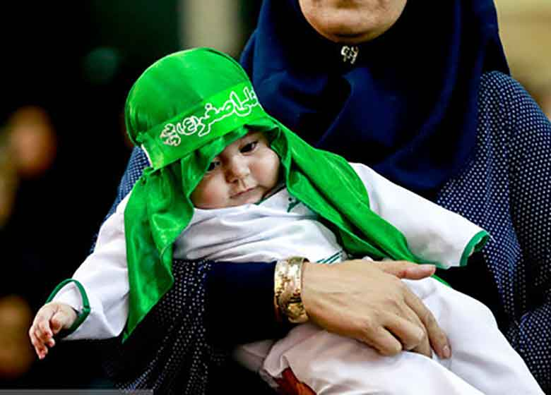 نوای لالایی مادران ایرانی برای کربلا / مادر «بنیتا» هم آمد