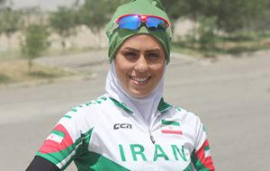 ملاقات رییس دوچرخهسواری با همسر آتوسا عباسی