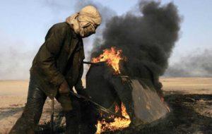 رسانه های عراق: پیشمرگه ها چاههای نفت کرکوک را آتش زدند