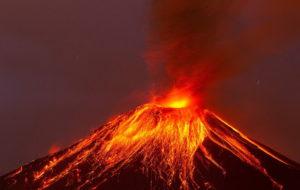پنج فوران بزرگ آتشفشانی جهان