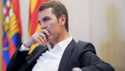 مدیر ورزشی بارسلونا در برنابئو چه می کرد؟