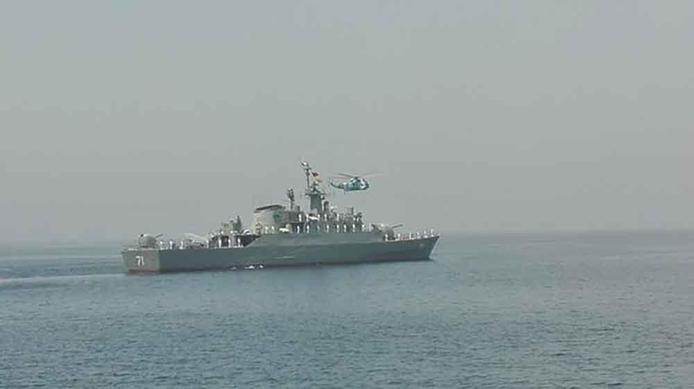 هجوم دزدان دریایی به کشتی تجاری ایرانی توسط ناوگروه نداجا دفع شد