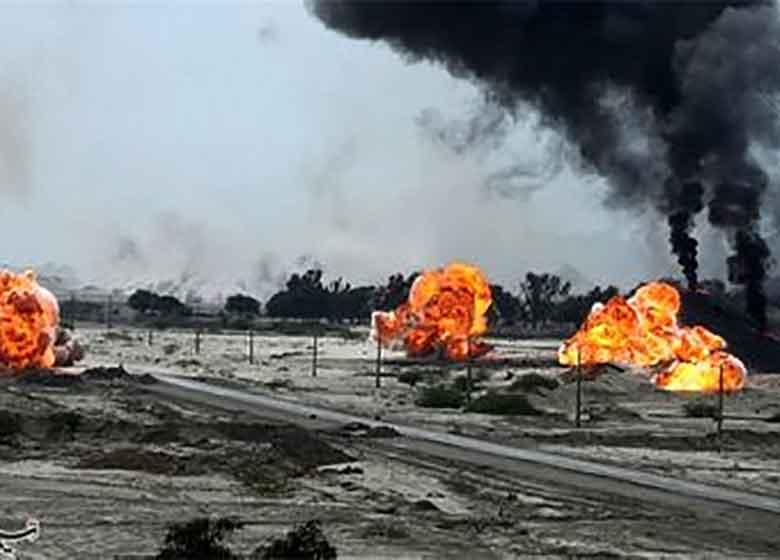 نمایش اقتدار ارتش ایرانی پیش چشم بارزانی / استقرار توپ و تانک در مرز اقلیم کردستان
