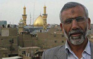 اشکهای نماینده پارلمان عراق برای یک سردار ایرانی