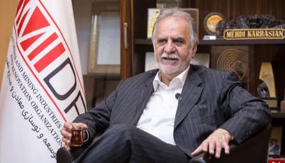 انتصاب رئیس سازمان توسعه و نوسازی معادن و صنایع معدنی