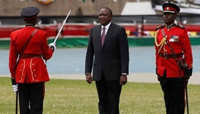 روایت تصویری از تحلیف رئیسجمهور کنیا در میان اعتراضات مردمی