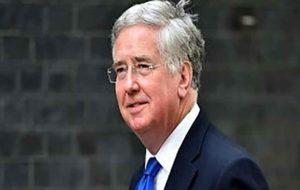 وزیر دفاع انگلیس به طور ناگهانی استعفا کرد
