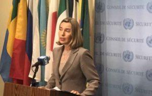 واکنش موگرینی به تنش در روابط ایران و سعودی