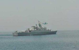 فیلم/ ناکامی دزدان دریایی در حمله به کشتی تجاری ایرانی
