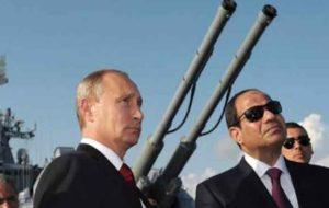 «السیسی» به روسیه اجازه استفاده از پایگاههای هوایی مصر را می دهد