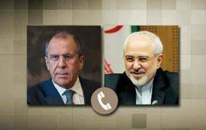 رایزنی وزرای خارجه ایران و روسیه