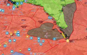 فاصله 10 کیلومتری ارتش سوریه تا محاصره آخرین عناصر داعش در بادیه