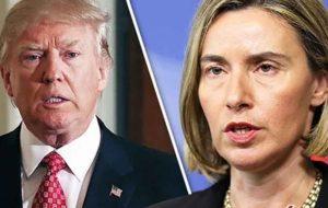منتظر اختلافات عمیق بین اروپا و آمریکا باشید