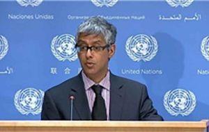 سازمان ملل ادعاهای موشکی آمریکا علیه ایران را رد کرد