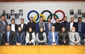 رئیس و نایبرئیس کمیسیون ورزشکاران معرفی شدند