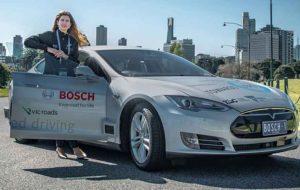 آزمایش موفق موقعیتیاب ماهوارهای در خودروهای خودران