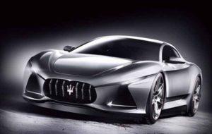 طرح رندر مازراتی ZS3 بر اساس خودروی مفهومی آلفیری