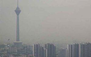 افزایش آلاینده ها افق دید تهران را به 7کیلومتر رساند