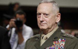 وزیر دفاع آمریکا پس از ادعاهای نیکی هیلی: نیازی به پاسخ نظامی به ایران نمیبینم؛ به همین دلیل بود که ژنرالهای ما کنار هیلی حضور نداشتند