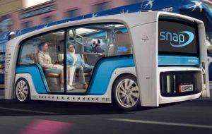 خودروی مفهومی اسنپ در لاسوگاس رونمایی میشود