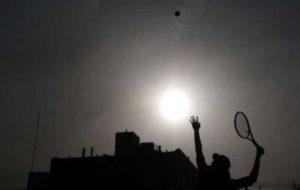 بانوان تنیس در آخرین اردوی آماده سازی شرکت می کنند