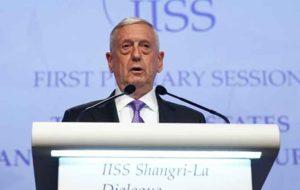 جیمز متیس: مشکل اصلی دولت آمریکا، حکومتِ ایران است!