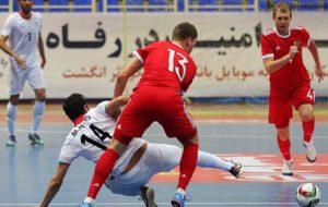فوتسال ایران چهارمین تیم برتر سال ۲۰۱۷/ناظم الشریعه در رتبه سوم سال ایستاد