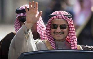 ولید بن طلال در حال مذاکره با مقامات سعودی بر سر سازش احتمالی است