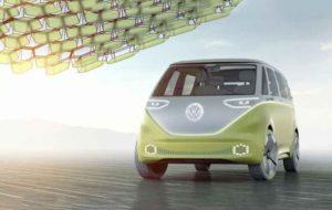 فولکس واگن خودروی مفهومی I.D. Buzz را با فناوری خودروی هوشمند انویدیا تجاری میکند