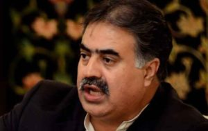 استعفای سروزیر ایالت بلوچستان پاکستان و افزایش مشکلات حزب حاکم
