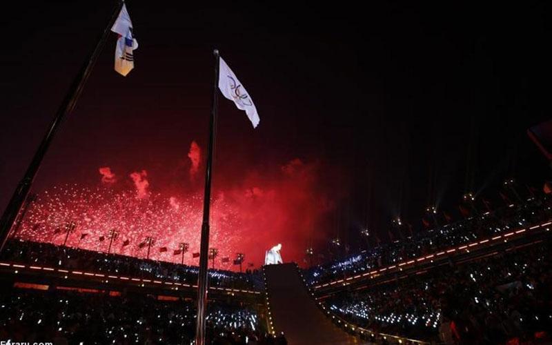 (تصاویر) افتتاحیه المپیک زمستانی ۲۰۱۸ پیونگ چانگ