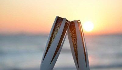 حمل مشعل المپیک توسط توماس باخ + عکس