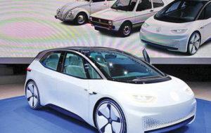تولید خودرو با پلتفرم برقی فولکس