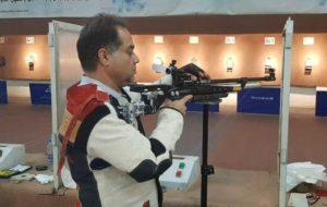 عنوان چهاردهم و هجدهم تیم میکس تفنگ ۱۰ متر ایران در مسابقات جهانی