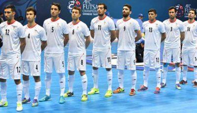 4 39 تیم ملی فوتسال ایران