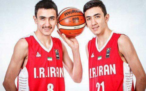 دوقلوهای بسکتبال ایران مورد توجه فیبا