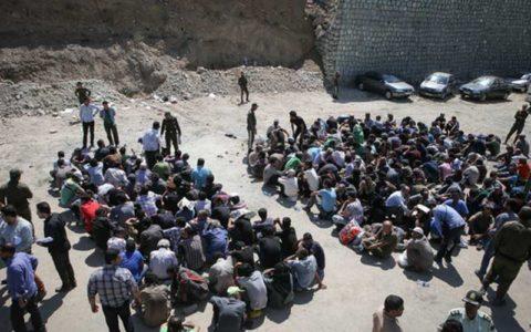 تهران ۳۰۰ هزار معتاد دارد/تداوم جمع آوری معتادان متجاهر در سال۹۷