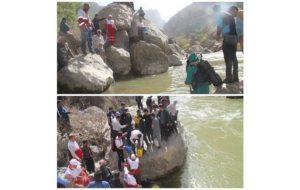 سرنخی از جوان غرق شده در رودخانه سیمره کشف نشده است