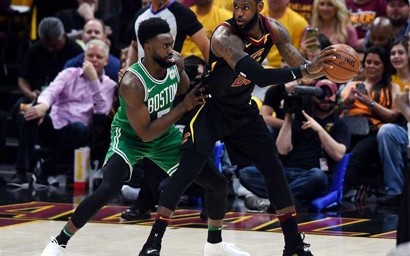 دیدار چهارم پلیآف NBA در کلیولند
