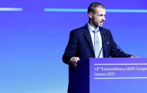 انتقاد رئیس یوفا از پیشنهاد ۲۵ میلیارد دلاری کنسرسیوم خاورمیانه و آسیا /چفرین: فوتبال برای فروش نیست