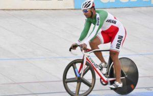 قهرمانی رجبلو و گنجخانلو در روز نخست لیگ برتر دوچرخهسواری پیست