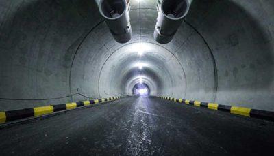 بازدید شهردار تهران از هفتمین تونل پایتخت