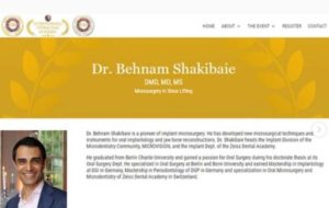 دندانپزشک ایرانی چهره پیشگام درمان های میکروسکوپی ایمپلنت شد