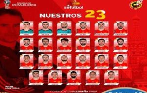اسامی بازیکنان تیم ملی اسپانیا اعلام شد/ موراتا دعوت نشد