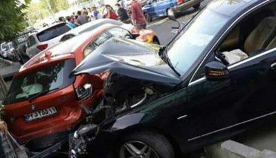 6 61 پلیس راهور تهران, فوتیهای تصادفات, عابران پیاده