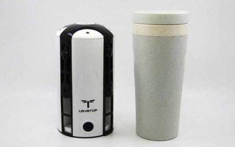 تولید پهپاد استوانه ای به شکل فنجان قهوه