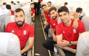 بازگشت بامدادی تیم ملی به تهران